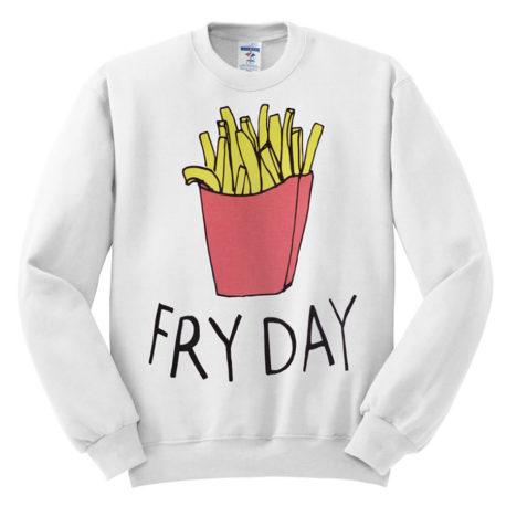 422 fry day sweatshirt melonkiss