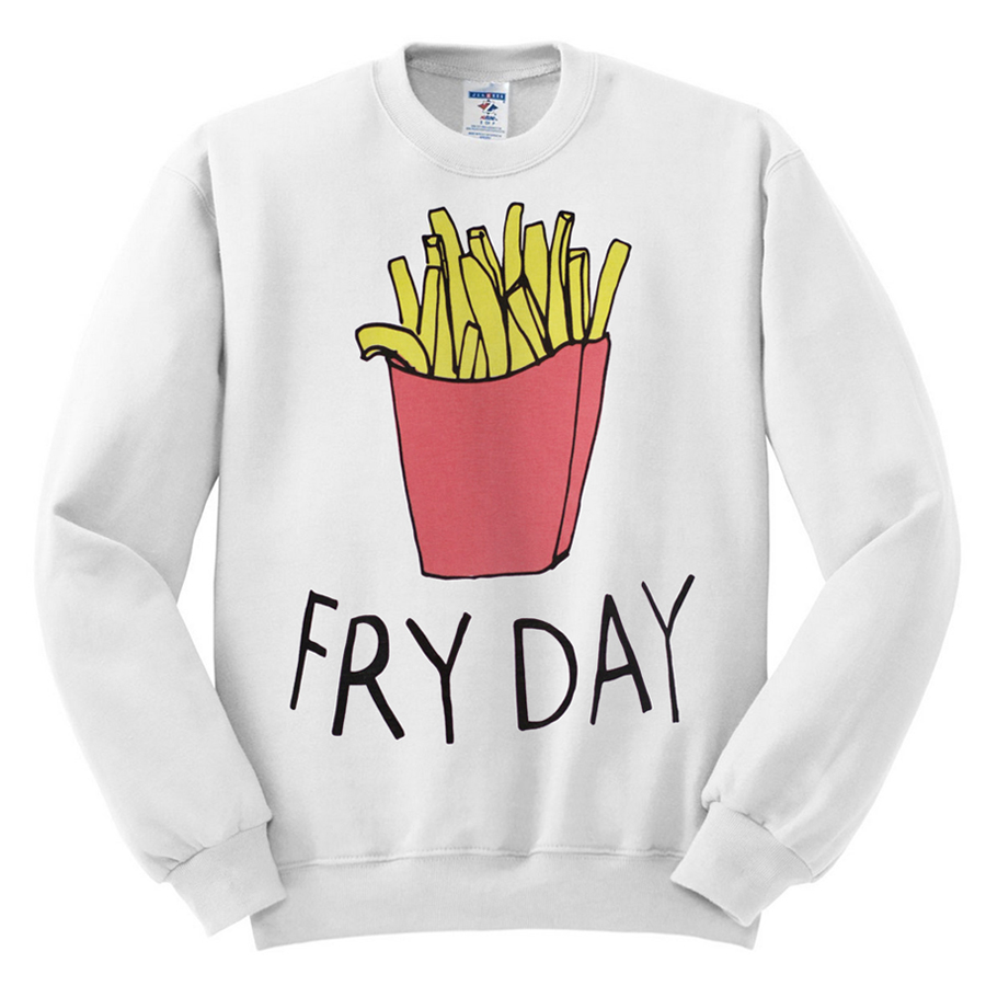 422 fry day sweatshirt melonkiss