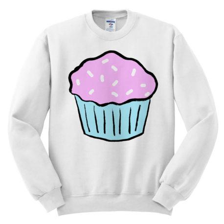 412 cupcake sweatshirt melonkiss