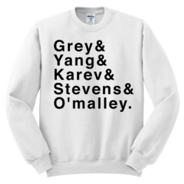 Greys Anatomy Sweatshirt | Grey's Anatomy Sweatshirt