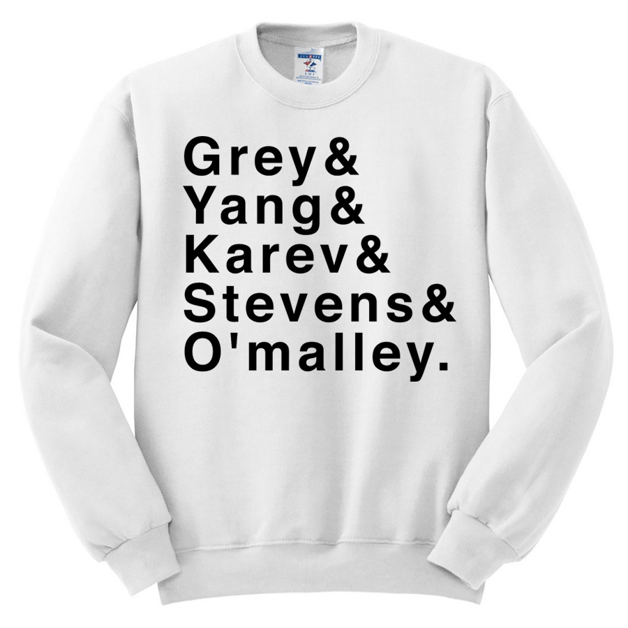 Grey\'s Anatomy Sweatshirt - Melonkiss