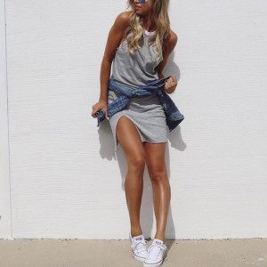 How to wear white converse white converse outfit ideas melonkiss 3