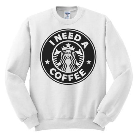 511 i need a coffee starbucks sweatshirt melonkiss 1