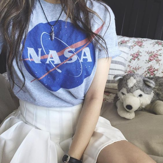 26 nasa logo shirt melonkiss