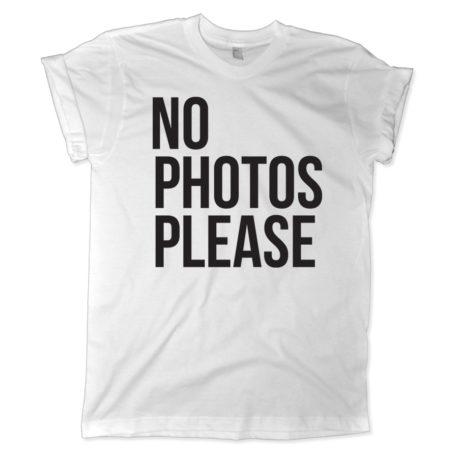 596 no photos please shirt melonkiss 900