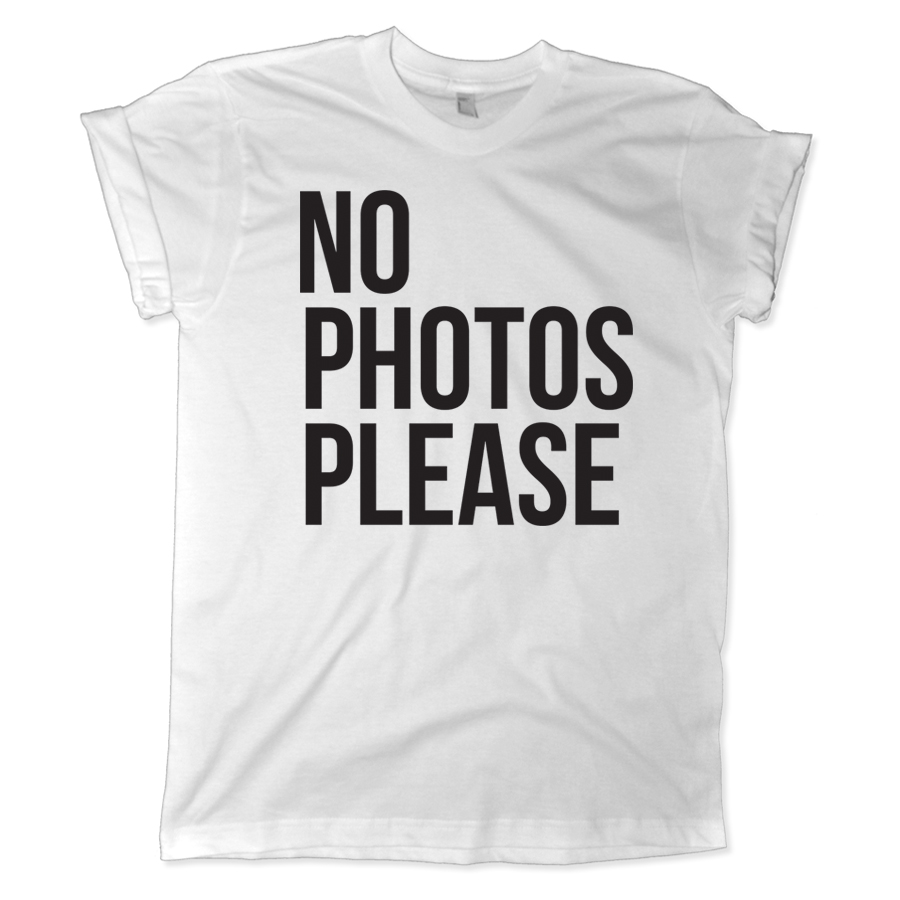 596 no photos please shirt melonkiss 900