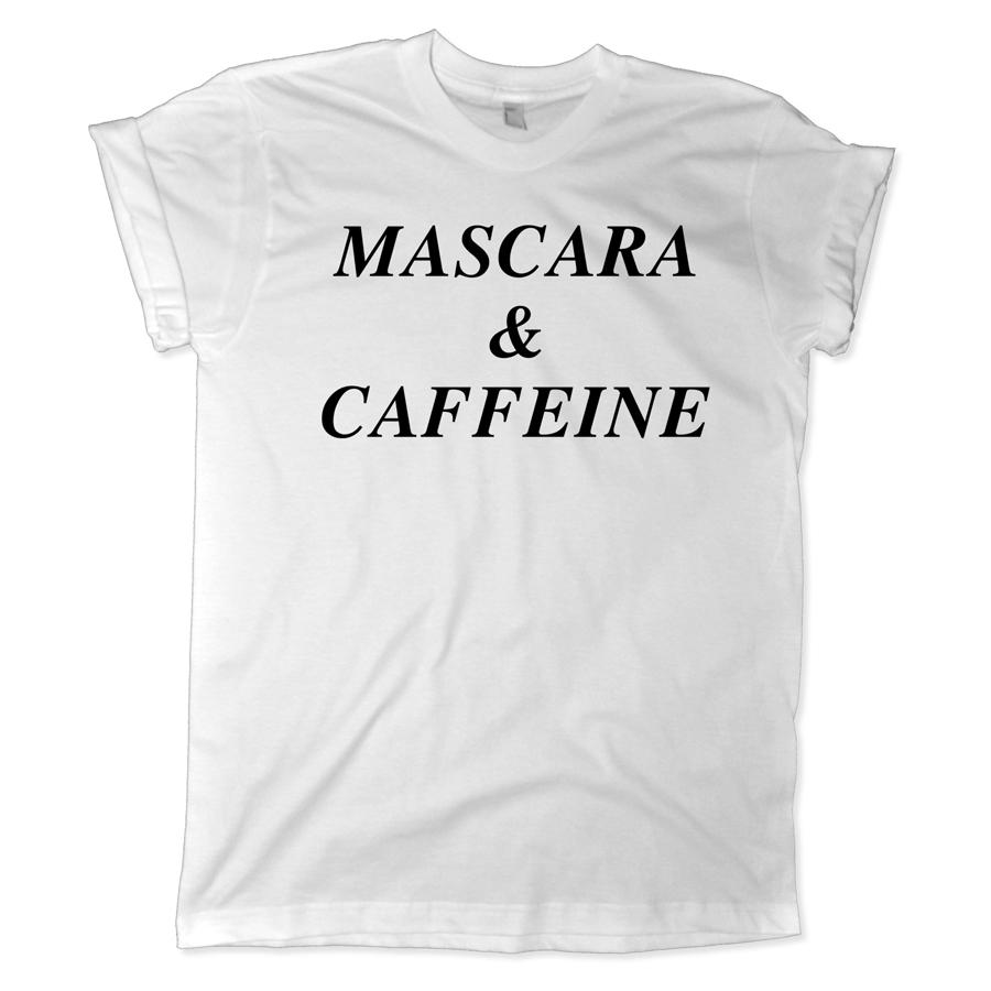 626 mascara and caffeine shirt melonkiss