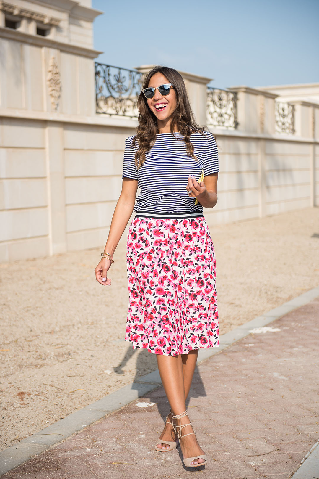 How To Wear A Pleated Skirt Outfit Ideas 2017 - Melonkiss