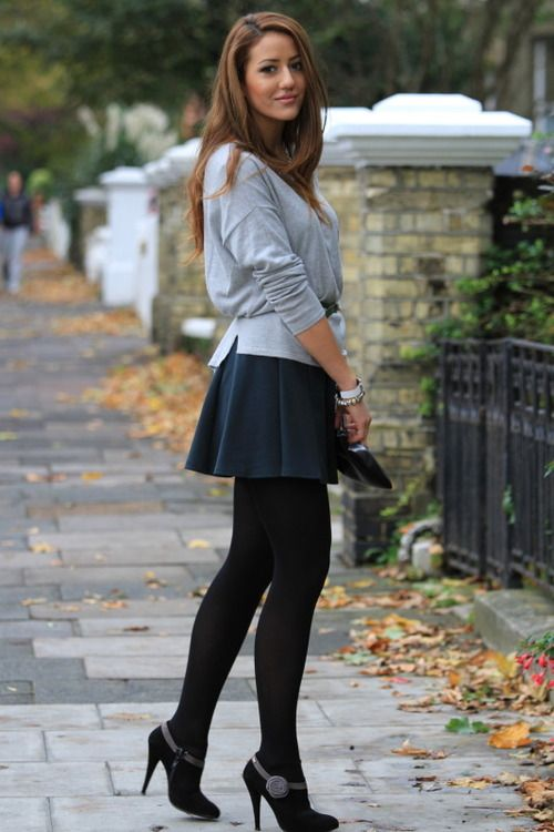pleated skirt outfit ideas melonkiss 12