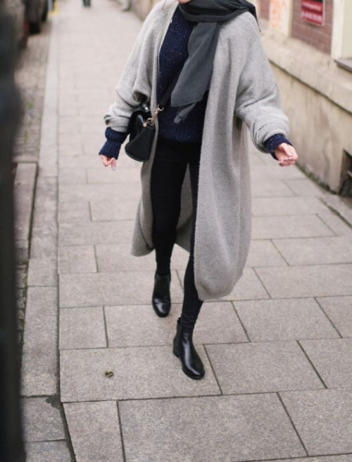 how to wear cardigan outfit ideas 9