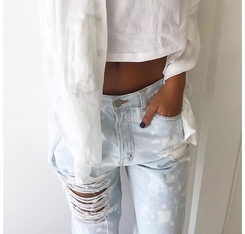 12 how to wear style white tee outfit idea melonkiss