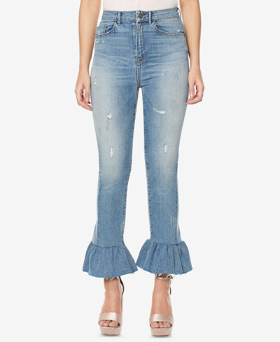 how to wear flared jeans outfit ideas