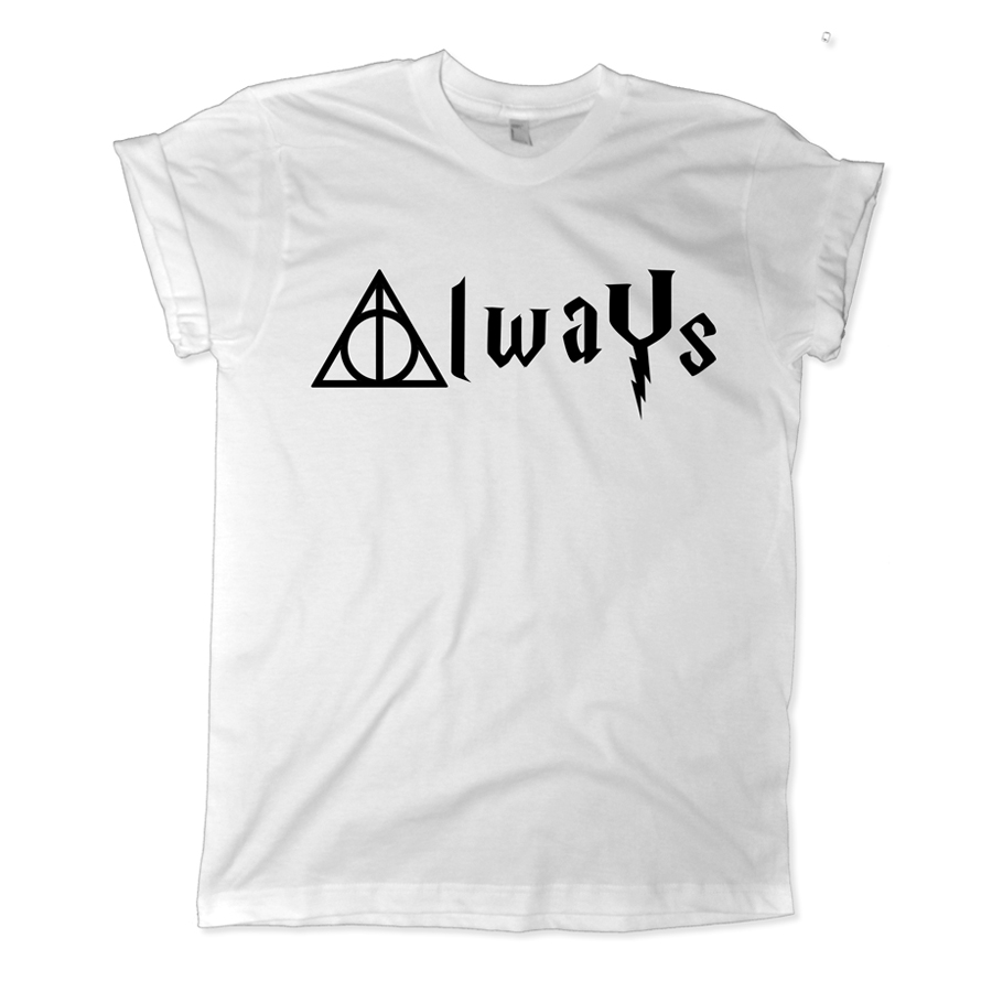 4199ec352 Always Harry Potter Shirt | Harry Potter Always Shirt - Melonkiss